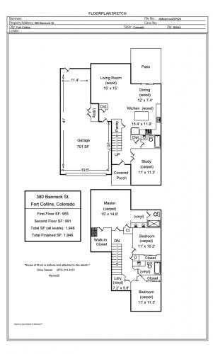 banncock floor plan